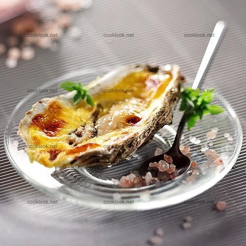 Huîtres farcies grillées