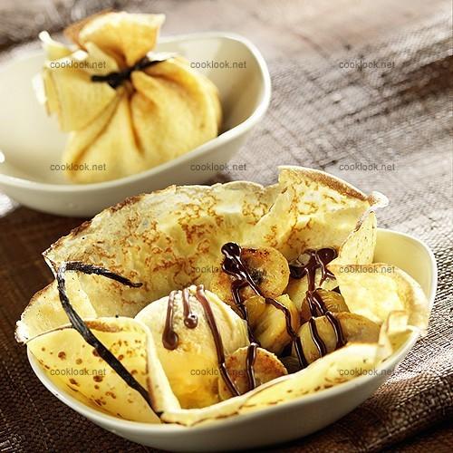 Photo culinaire cr pes gourmandes cooklook photo recette cuisine et photographies recettes - Recette crepe gourmande ...
