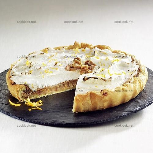 Photo culinaire tarte la cr me de marron meringu e cooklook photo recette cuisine et - Dessert a la creme de marron ...