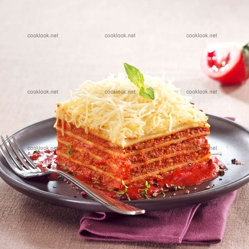 Lasagnes bolognaises très simples