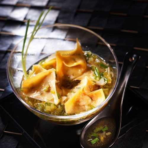 Soupe chinoise aux wontons