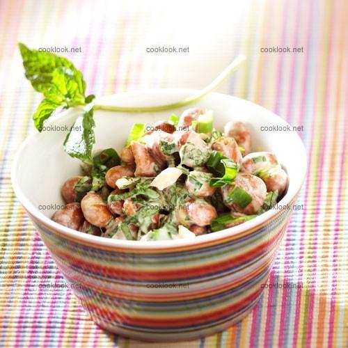 Salade de fèves (foul)