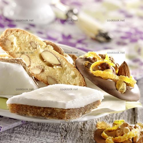 Trio de desserts provençaux
