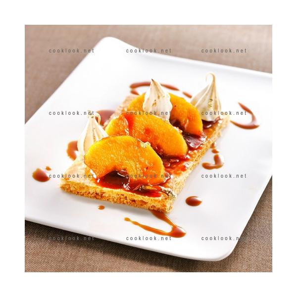 Photo culinaire de recettes originales base de fruits cooklook - Feuillete aux pommes caramelisees ...