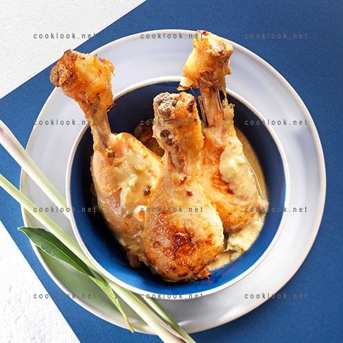Pilons de poulet à l'indienne