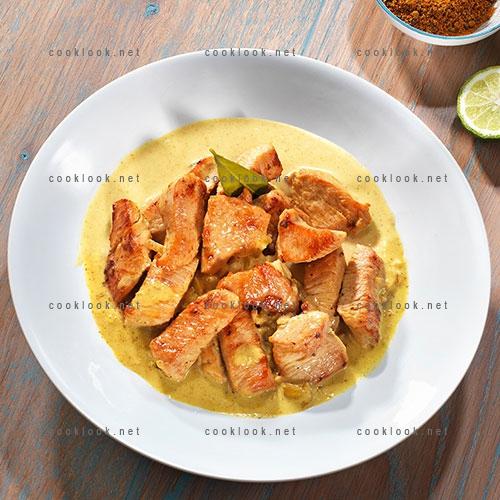 Sauté de dinde « curry-coco »