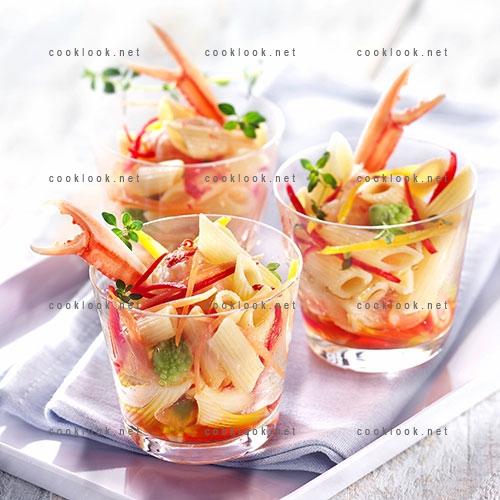 Salade de pâtes aux langoustines