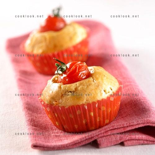 Muffins tomate feta