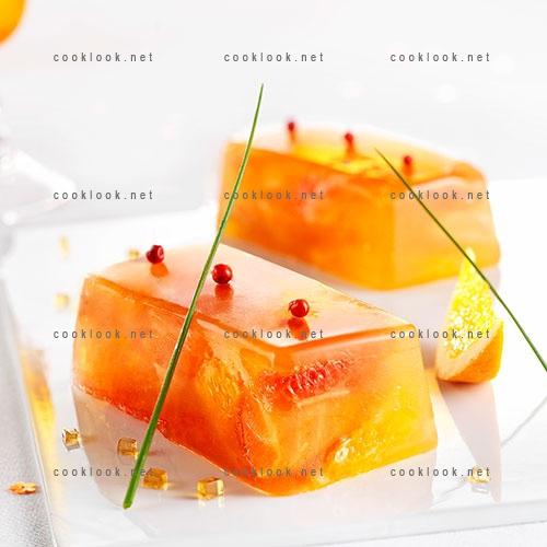 Lingots de saumon aux agrumes