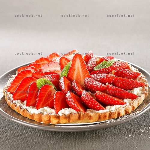 Tarte mascarpone fraise
