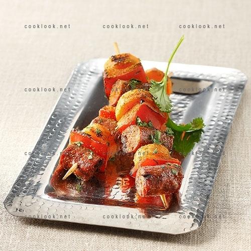 Brochettes merguez et carotte