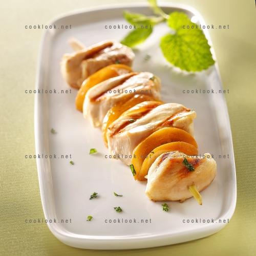 Brochettes de poulet au citron et à la menthe