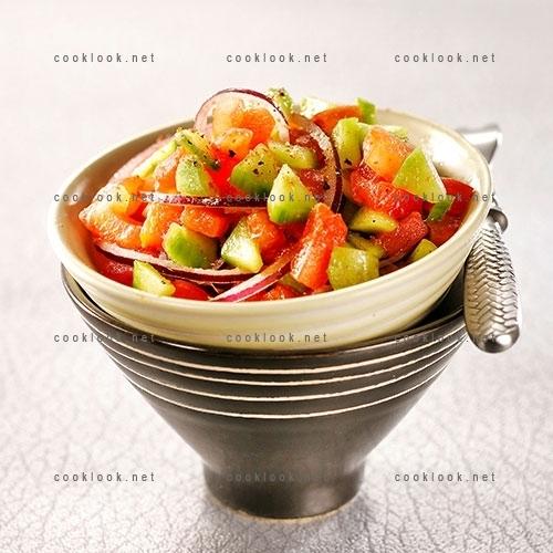 Salade fraîche façon berbère