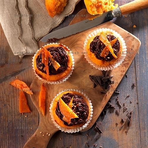 Muffins de patate douce au chocolat