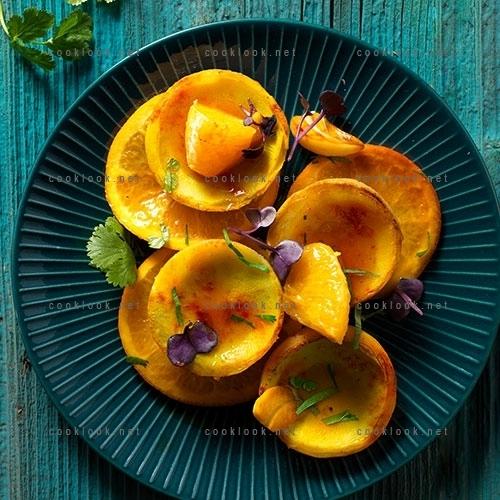 Salade d'artichauts parfumés à l'orange