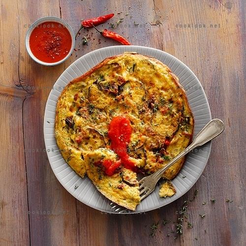 Omelette aux saveurs du sud