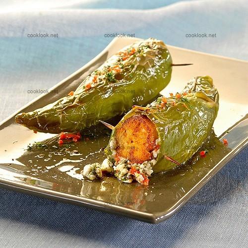 Photo culinaire poivrons farcis la grecque cooklook for Cuisine grecque