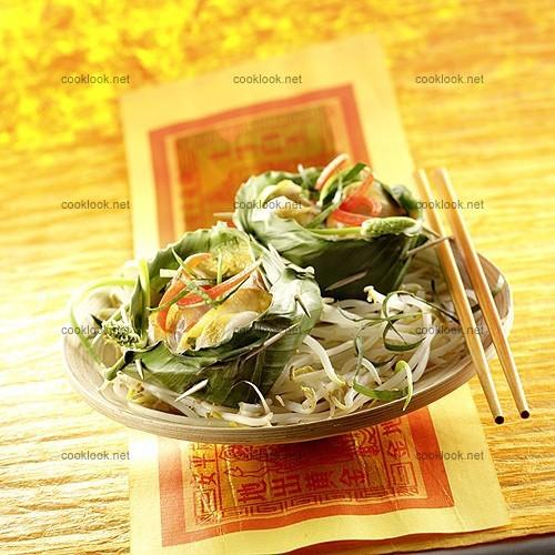 Petits soufflés de poisson thaïlandais