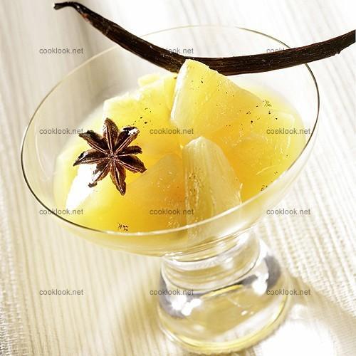 Léger d'ananas