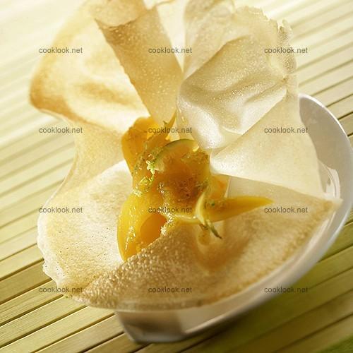 photo culinaire mangues en feuille de brick cooklook photo recette cuisine et photographies