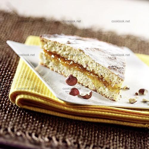 Cuisine nature > Gâteau de haricots blancs à la confiture dabricots