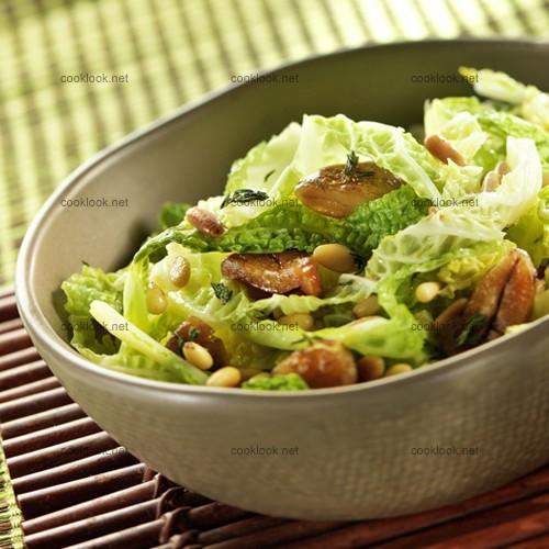 Salade de chou aux châtaignes