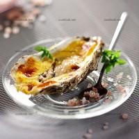 photo recette Huîtres farcies grillées