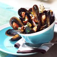 photo recette Les moules marinières