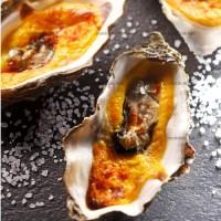 photo recette Huîtres gratinées et safranées