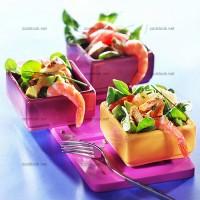 photo recette Salade en été