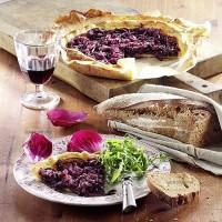 photo recette Tartes aux oignons rouges