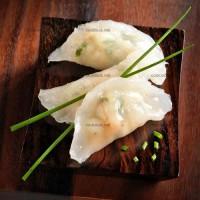 photo recette Raviolis aux crevettes
