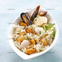photo recette Risotto de la mer