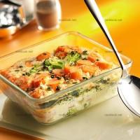 photo recette Gratin de carottes aux brocolis