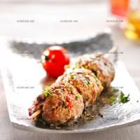 photo recette Keftas en brochettes