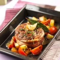 photo recette Filet d'agneau aux herbes