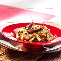 photo recette Veau in wok