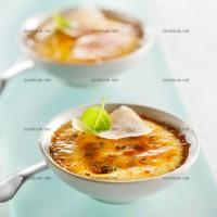 photo recette Crème brûlée au parmesan