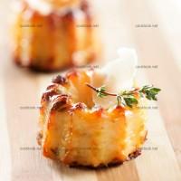 photo recette Mini cannelés au parmesan
