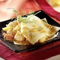 photo recette Ravioles ouvertes de langoustine aux agrumes
