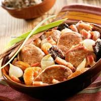 photo recette Filet mignon de porc aux pruneaux et abricots