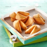 photo recette Fortune cookies