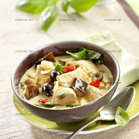 photo recette Curry vert de poulet