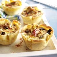 photo recette Bouchées aux artichauts