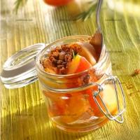 photo recette Abricots au romarin