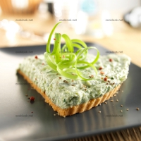 photo recette Cheesecake aux herbes fraîches