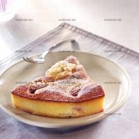 photo recette Clafoutis aux prunes