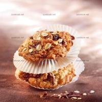 photo recette Cookies aux flocons d'avoine et chocolat