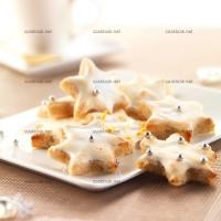 photo recette Etoiles blanches à la cannelle