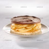 photo recette Gâteau bananes chocolat